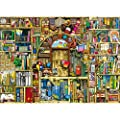 Ravensburger Bizarre Bookshop 2 1000 Piece Jigsaw Puzzle for Adults – Every Piece is Unique, Softclick Technology Means Pieces Fit Together Perfectly from Ravensburger