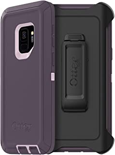 OtterBox DEFENDER SERIES Case for Samsung Galaxy S9 - Retail Packaging - PURPLE NEBULA (WINSOME ORCHID/NIGHT PURPLE)