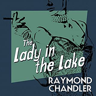 The Lady in the Lake audiobook cover art