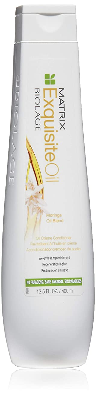 六月致命的広告するマトリックス Biolage ExquisiteOil Oil Creme Conditioner 400ml [海外直送品]