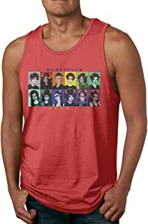 Red Classic JoJo's Bizarre Adventure Men's Tank Top