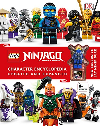 LEGO NINJAGO Character Encyclopedia, Updated Edition: New Exclusive Jay Minifigure