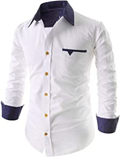 IndoPrimo Men's Regular Fit Cotton Casual Shirt