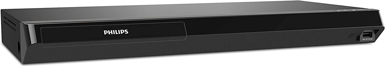 Philips 4K UHD Dolby Vision Blu-ray Player w/ Built-in Wireless LAN and Streaming Apps (BDP7502)