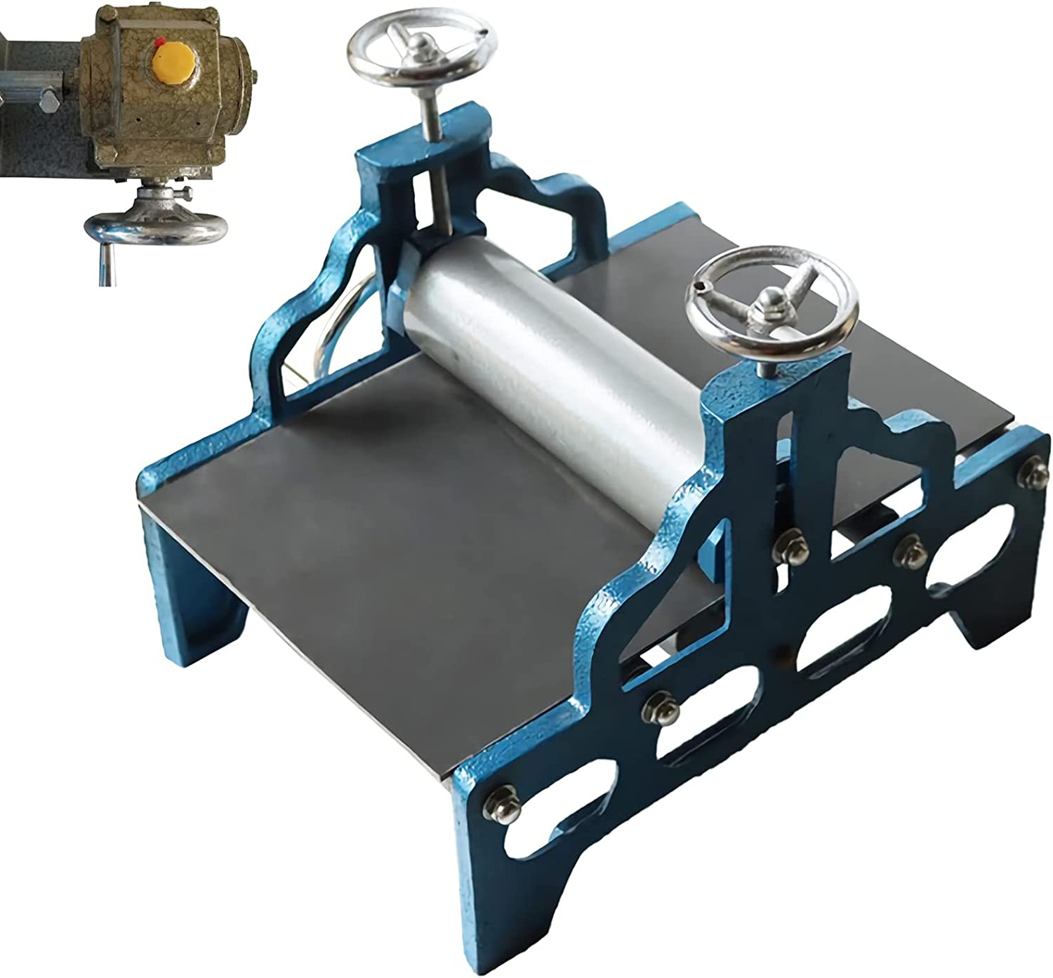 INTBUYING 19.7x12.2 in Slab Weekly update Printmaking Roller Portable Machine Directly managed store
