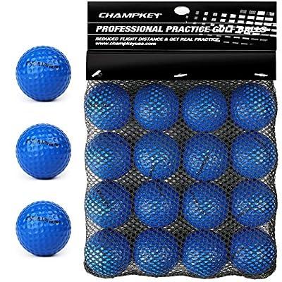 Champkey Foam Golf Balls(16 Pack or 32 Pack) (Blue, 16 Pack)