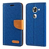 Letv LeEco Le 2 Case, Oxford Leather Wallet Case with Soft