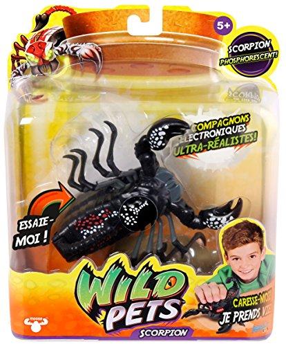 Asmokids - KK290041 - Scorpion Venin Interactif - Wild Pets - Capteurs Sensitifs