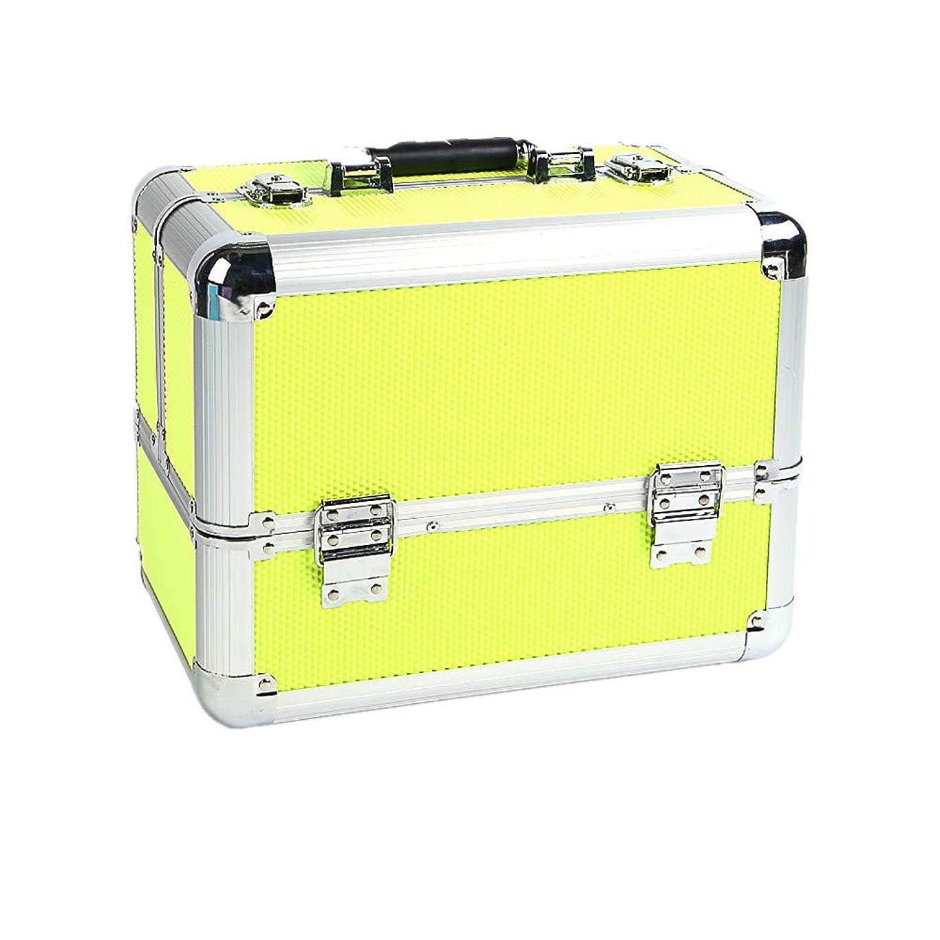 包括的しっとり立証する化粧オーガナイザーバッグ 大容量ポータブル化粧品ケース用トラベルアクセサリーシャンプーボディウォッシュパーソナルアイテムストレージロックと拡張トレイ 化粧品ケース