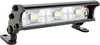 Apex RC 3 LED 55mm Aluminum Light Bar Fits Traxxas 1/16 Teton, 1/16 Summit, 1/16 E-Revo, Redcat 1/18 Volcano, ECX 1/18 Temper, 1/18 Rukus, 1/10 AMP Desert Buggy, 1/10 Boost Buggy & More #9040