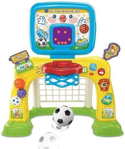VTech - Bébé multisport interactif, jeu éducatif bébé, centre de sport Éducatif – Version FR