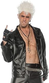Men's 80's Rebel Rocker Costume Jacket