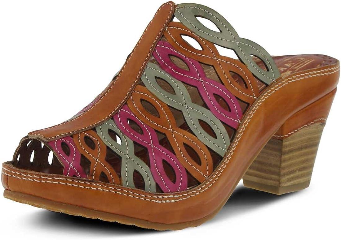 L`Artiste Womens Emuna Slide Sandal