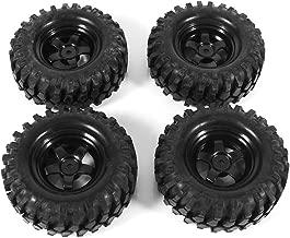 Dilwe 1:10 RC Coche Neumáticos de Goma & Llantas Crawler Buggy Modelo Juguete Accesorio
