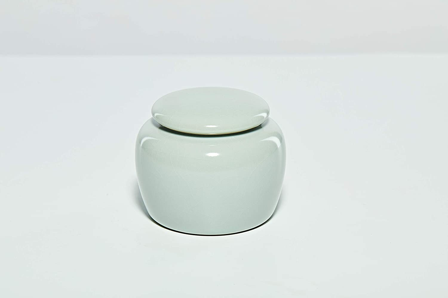 YASI Celadon Bargain Porcelain Tea Container Leaves Storage Courier shipping free shipping Canister