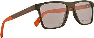 Armani Exchange AX3055 Eyeglasses 55-16-145 Matte Army Green w/Clear Demo Lens 8272 AX 3055