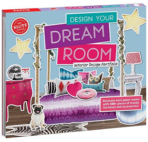 KLUTZ Design Your Dream Room Toy