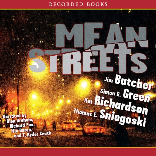 Mean Streets audiobook cover art