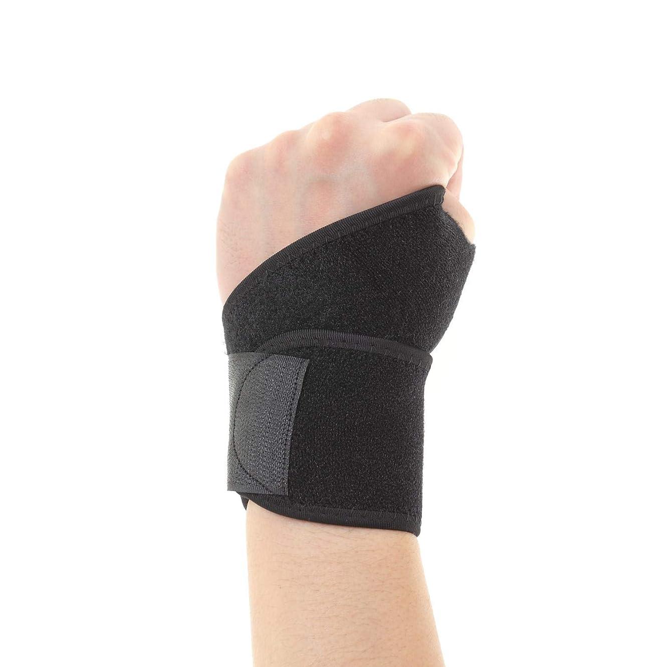 ブラジャータックトロリーBlue Aim 手首用サポーター 男女兼用 フリーサイズ (手首の周囲径12~15cm) 巻きつけ式 手首痛 予防 スポーツ 手首の保護 手首サポーター WR-B1