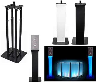 (1) Rockville Black Adjustable Totem Speaker Stand For Cerwin Vega CVA-28X