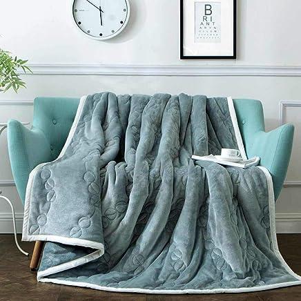 LB-blanket LB-blanket LB-blanket Winter Plus Samtdecke Dicke Doppeldecke grau 150  200cm B07KM8F6W7   Bestellung willkommen  57896a