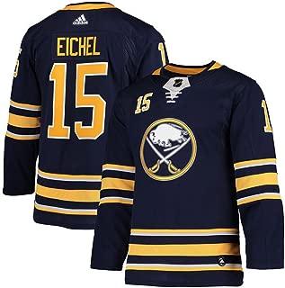 Men's Buffalo Sabres Navy #15 Jack Eichel adidas Player Jersey