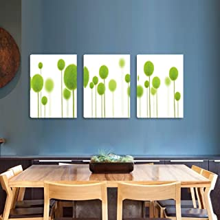 Dandelion Canvas Paintings Botanical Printing Wall Arts Framed Ready to Hang Wall Decor on Canvas 16