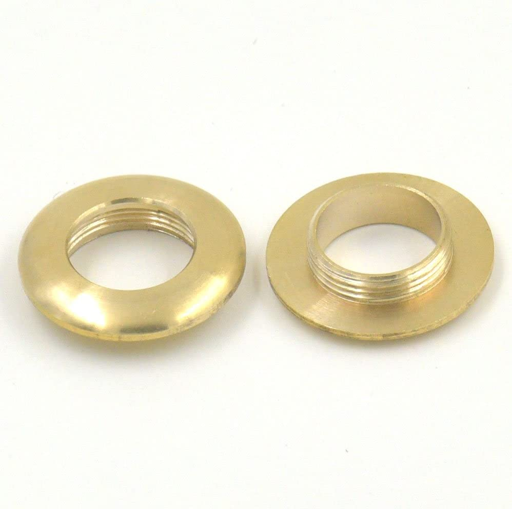 6 Sets 13mm Brass Grommet Eyelets For Canvas Clothes Leather Purse Backing Buckle
