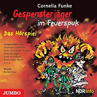 Gespensterjäger im Feuerspuk                   Autor:                                                                                                                                 Cornelia Funke                               Sprecher:                                                                                                                                 div.                      Spieldauer: 1 Std. und 12 Min.     17 Bewertungen     Gesamt 4,8
