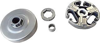 ACRA Clutch & Clutch Drum & Sprocket Rim 3/8''-7 & Clutch Cage Bearing for Husqvarna Chainsaw 362 365 371 372 372XP New Re...