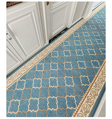 Amcerd Teppich Läufer Flur, Flur Teppich Läufer rutschfest, rutschfest Waschbar für Wohnzimmer Flur Küche - 70x420cm