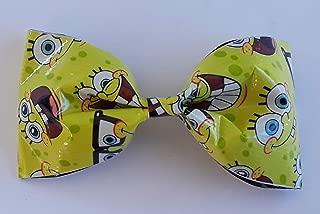 spongebob hair bow