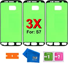 MMOBIEL 3 x Pre- Cut Adhesive Glue Tape Sticker Compatible with Samsung Galaxy S7 G930 Front Housing LCD Bezel Frame