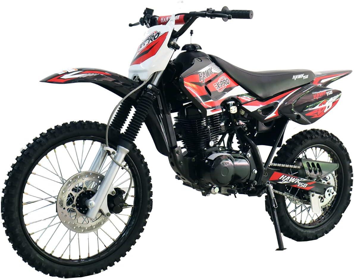 X-PRO Hawk 150cc Adults Max 53% OFF Dirt D safety Pit Youth Bike