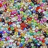 盛世汇众 Forma Rotonda Ottimizzata Cristalli austriaci Perle di Alta qualità 200pcs 3mm perdono dei monili del Braccialetto della Sfera di Vetro Che Fanno DIY ,Alta qualità (Colore : Y300 Mixed Color)