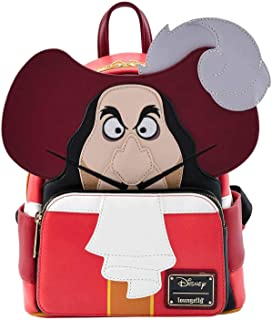 Loungefly Disney Peter Pan Captain Hook Cosplay Womens Double Strap Shoulder Bag Purse