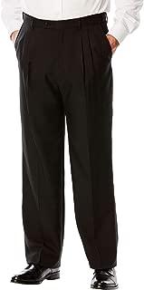KS Signature Kingsize Signature Collection Men's Big & Tall Easy Movement Pleat-Front Expandable Dress Pants