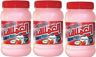 Al EMLAQ SUPER PASTE DISH WASH Strawbery GEL 1KG (PACK 3 Pieces )