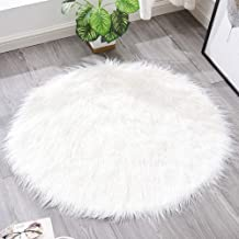 Round Cashmere Rug Bedroom Bedside Cold Warm Pad Living Room Sofa Coffee Table Mat Chair Cushion Carpet,5,30cm