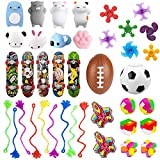 40 Pack Party Favors for Kids, Carnival Prizes for Boys Girls, Prizes Box Toy Assortment for Classroom, Treasure Box, Goodie Bag Filler, Pinata Fillers