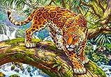 Castorland C-151752-2 Sneaking Jaguar, 1500 Teile Puzzle, bunt -