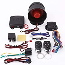 $36 » Car Security Alarm System - 12V Motorcycle Bike Anti-theft Security Alarm System Remote Control with Double Remote Control...