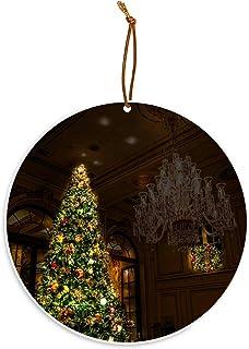 Gotham Decor Christmas in New York Christmas at The Plaza Hotel Christmas Tree Ornament