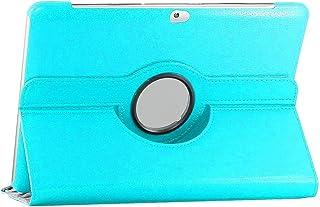 ebestStar - Funda Compatible con Samsung Galaxy Tab 2 10.1, GT-P5110 P5100 Carcasa Cuero PU, Giratoria 360 Grados, Función de Soporte, Azul [Aparato: 256.6 x 175.3 x 9.7mm, 10.1'']
