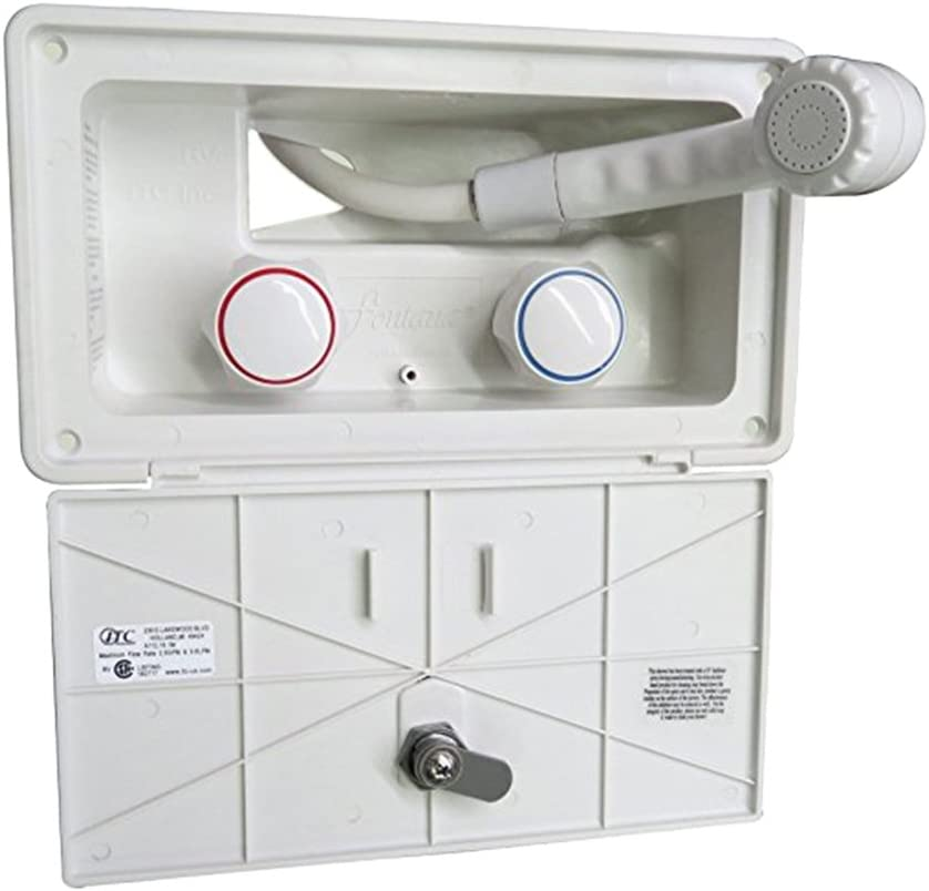 Gazechimp Hand Very popular HELD Locking Shower Translated RV Ou Camper Exterior Outside