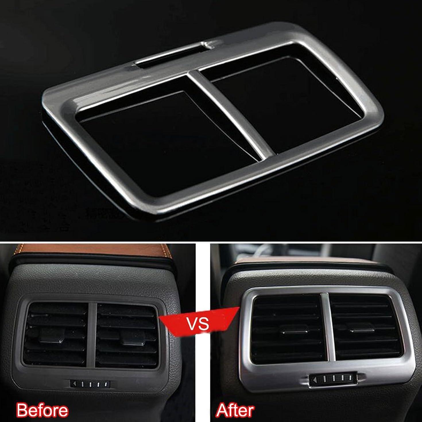 ドラム必要条件モンキーJicorzo - Silver A/C Outlet Vent Frame Cover Trim ABS Interior Car Styling Fit for VW Golf 7 MK7 2014 2015
