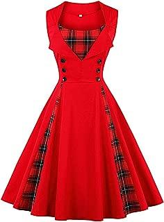 Best 1940s plaid dress Reviews