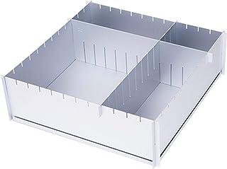 Doefo Adjustable Cake Mold, Aluminum Square Baking Pan, Multi-Function Baking Frame for Chocolate and Cake, 31x31x10cm