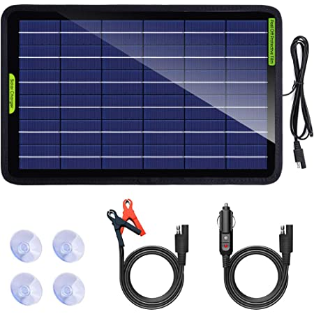 Eco Worthy 12 Volt 10 Watt Tragbares Solarpanel Elektronik