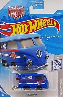 Hot Wheels 2019 Magnus Walker Urban Outlaw: Volkswagen Kool Kombi (Blue) - International Card